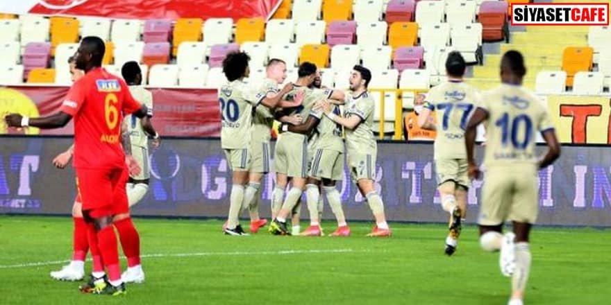 Puan çıkmadı: Yeni Malatyaspor 1-1 Fenerbahçe