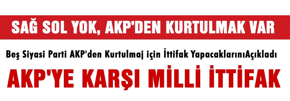 Bitlis'te AKP'ye karşı Milli ittifak