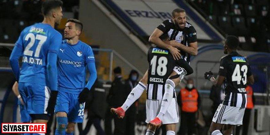 Kartal uçuyor: Erzurumspor 2-4 Beşiktaş