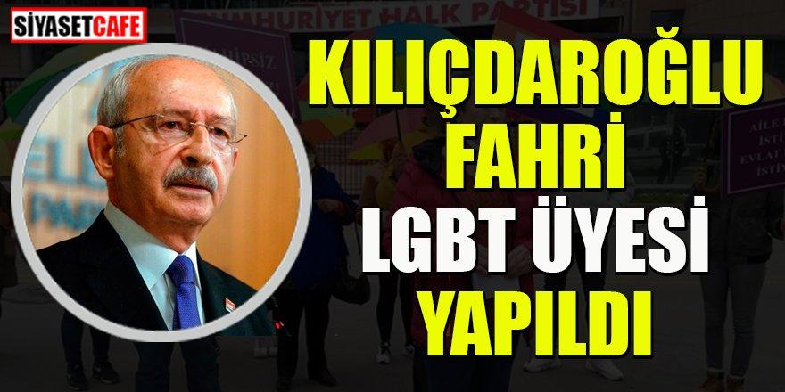 Kemal Kılıçdaroğlu fahri LGBT üyesi yapıldı