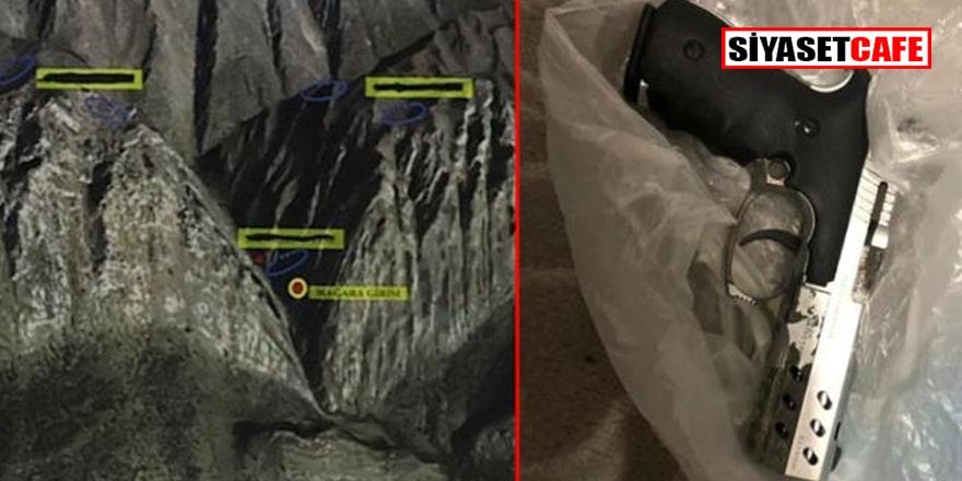 Gara şehidinin tabancası terör operasyonunda ele geçirildi