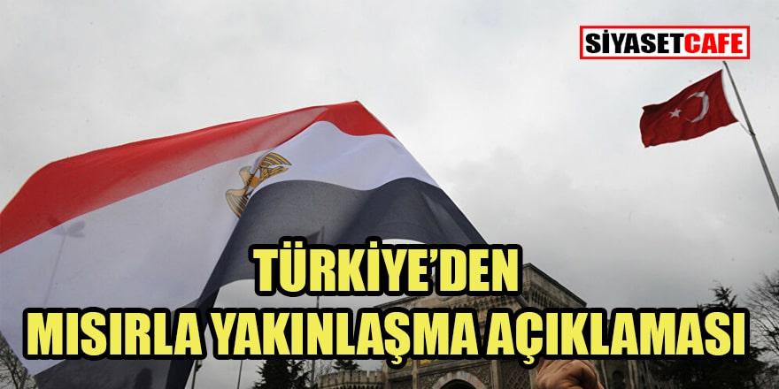 Çavuşoğlu'ndan 'Mısırla yakınlaşma' açıklaması