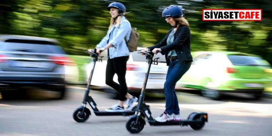 E-scooter yönetmeliği yayımlandı