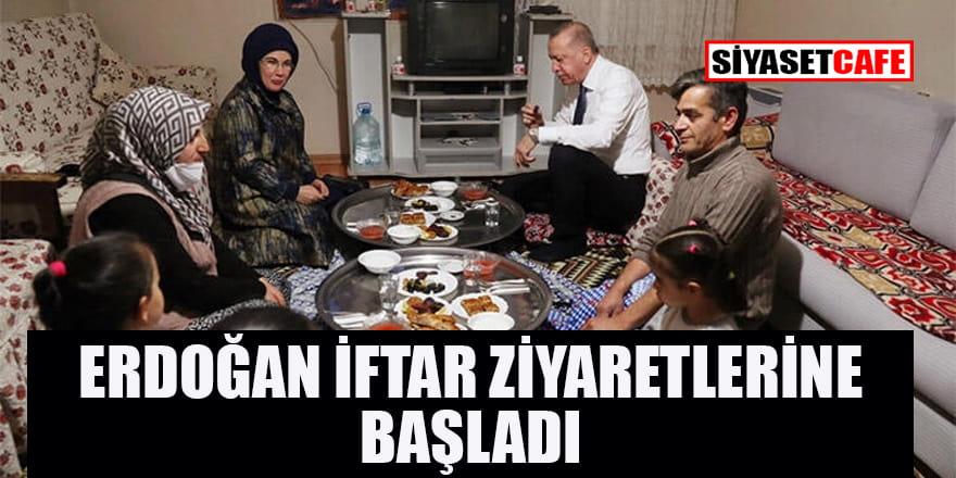 Cumhurbaşkanı Erdoğan'dan sürpriz iftar ziyareti!