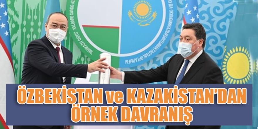Özbekistan ve Kazakistanlı kardeşlerimizden örnek ticari atılım