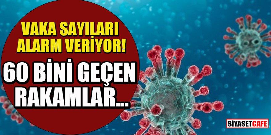 15 Nisan 2021 koronavirüs tablosu açıklandı