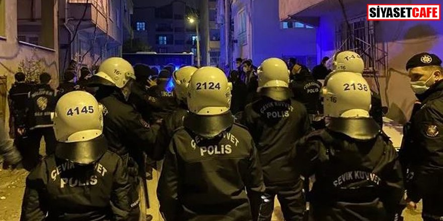 Bursa'da gergin gece: Çevik kuvvet müdahale etti