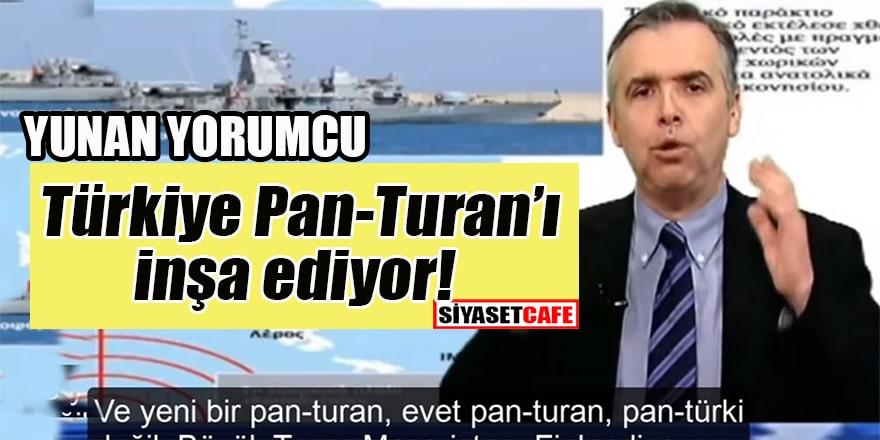 Yunan Spiker: Türkiye, Macaristan, Finlandiya ve diğerleriyle Büyük Turan'ı inşa ediyor!