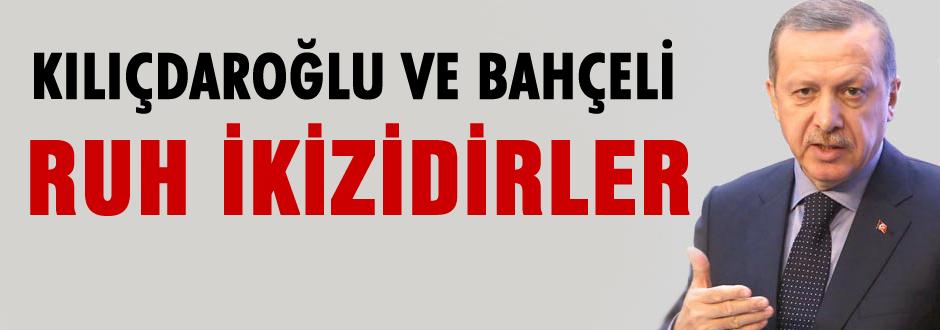 CHP ve MHP genel başkanları ruh ikizidirler