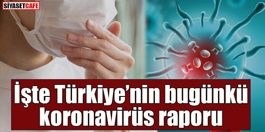 18 Nisan 2021 koronavirüs tablosu açıklandı