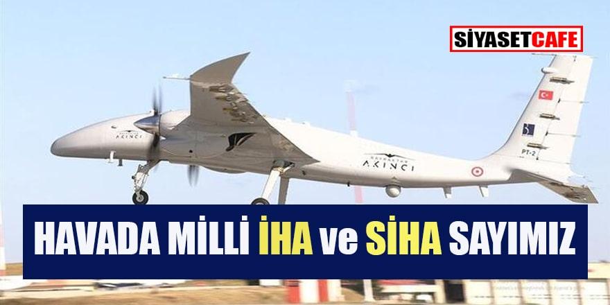 245 F-16 savaş uçağının bulunduğu Türkiye'de SİHA ve İHA sayısı hızla artıyor