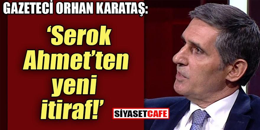 Gazeteci Orhan Karataş'tan Ahmet Davutoğlu'na: Bu kızgınlığınız neden?