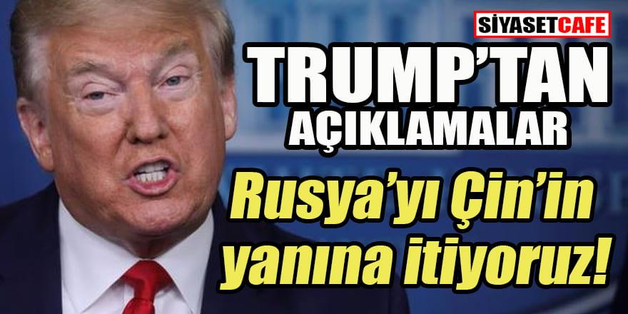 Trump'tan Rusya açıklaması: Yapabileceğiniz en kötü şey...