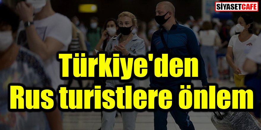 Türkiye'den Rusya önlemi: İki kez yaptıracaklar