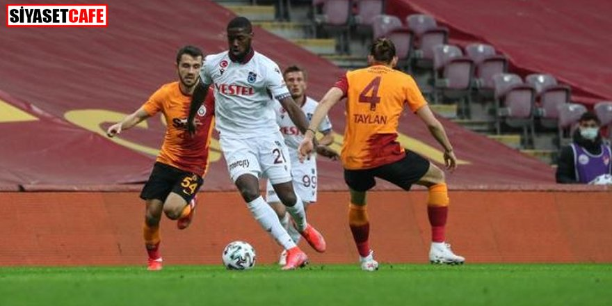 Uzatmada beraberlik: Galatasaray 1-1 Trabzonspor