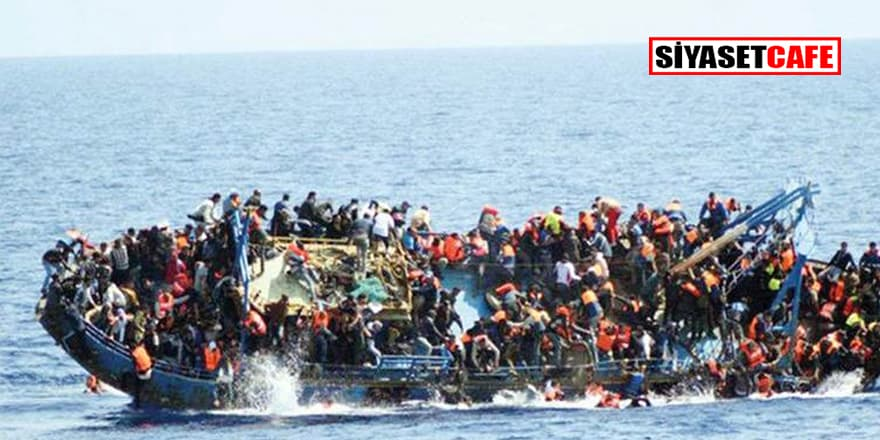 Akdeniz'de mülteci botu battı: En az 100 ölü