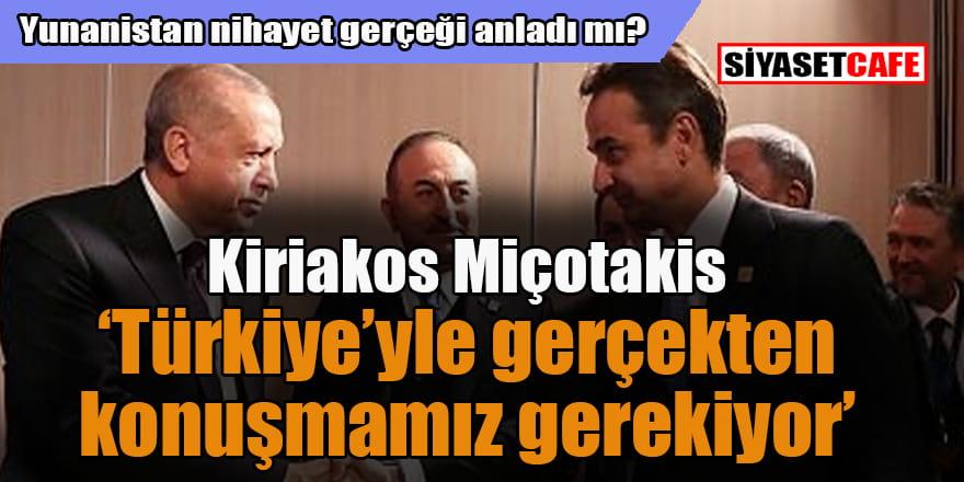 Yunanistan Başbakanı Miçotakis: Cumhurbaşkanı Erdoğan ile konuşmamız lazım...