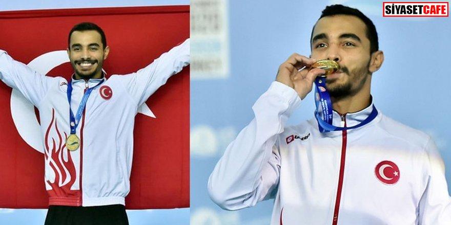 Türkiye'ye bir altın madalya daha!