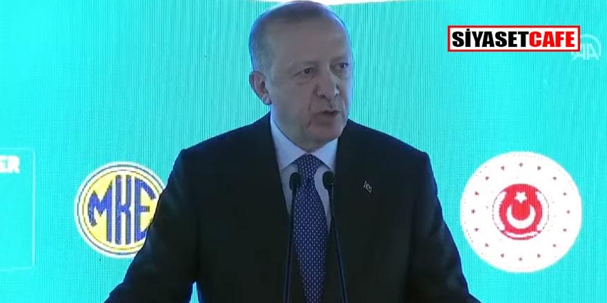 Erdoğan'ın açtığı o tesiste roket başlıkları ve roket yakıtı hammaddesi üretilecek!