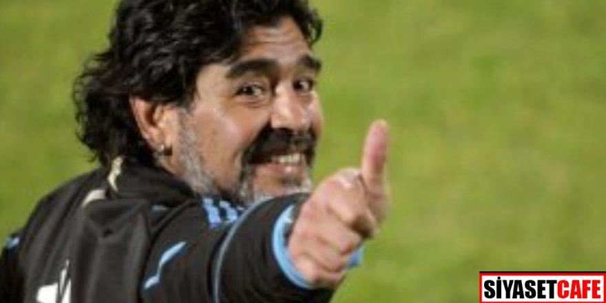 Ünlü yıldız Maradona kaderine terkedilmiş