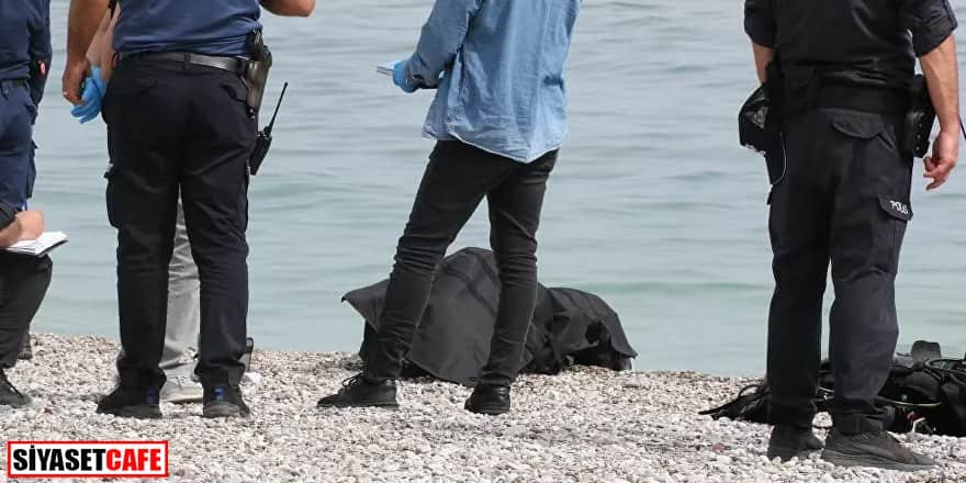 Antalya'da turistleri korkutan olay: Ceset çıktı