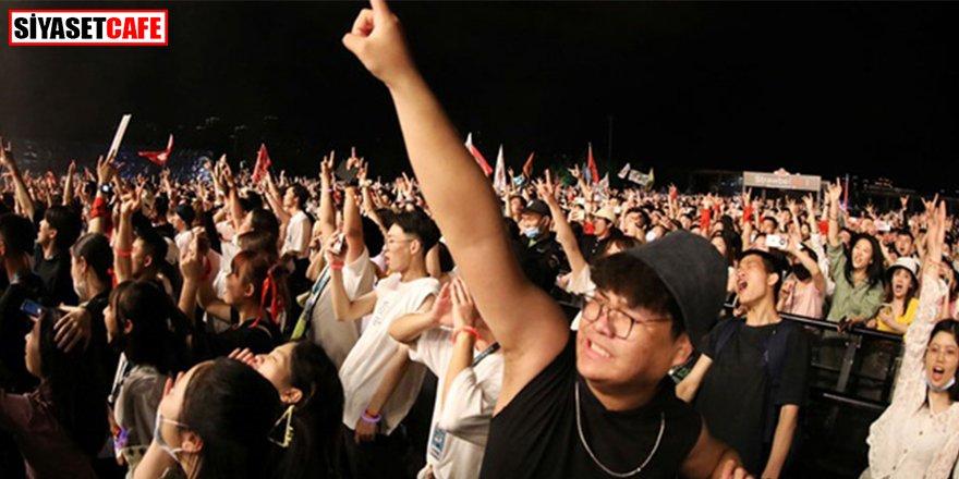 Aylardır tek vaka yok: Vuhan'da 11 bin kişilik müzik festivali