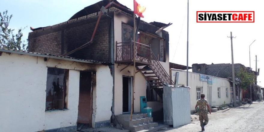 Taciklerin yaptığı yıkım görüntülendi
