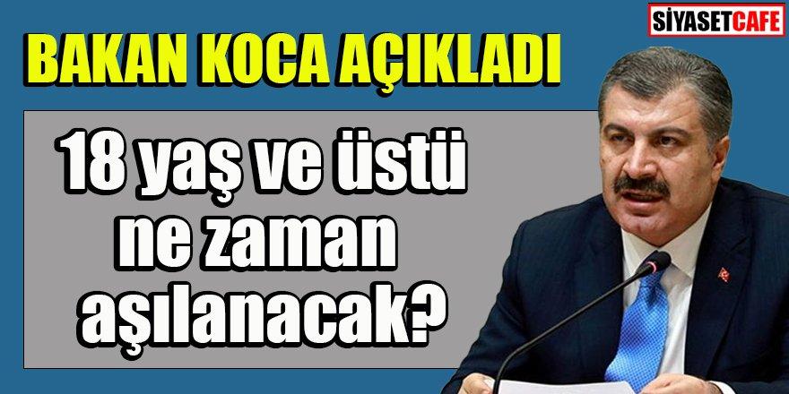 Bakan Fahrettin Koca önemli soruları yanıtladı