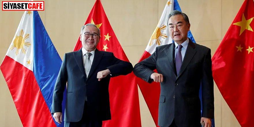 Gerilim arttı: Filipinler Dışişleri Bakanı'ndan Çin'e 'S..tir git'