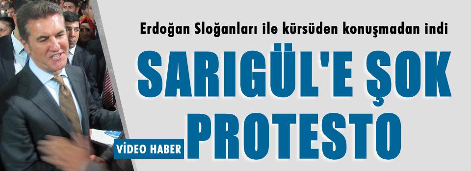 Feshane'de Sarıgül'e şok protesto