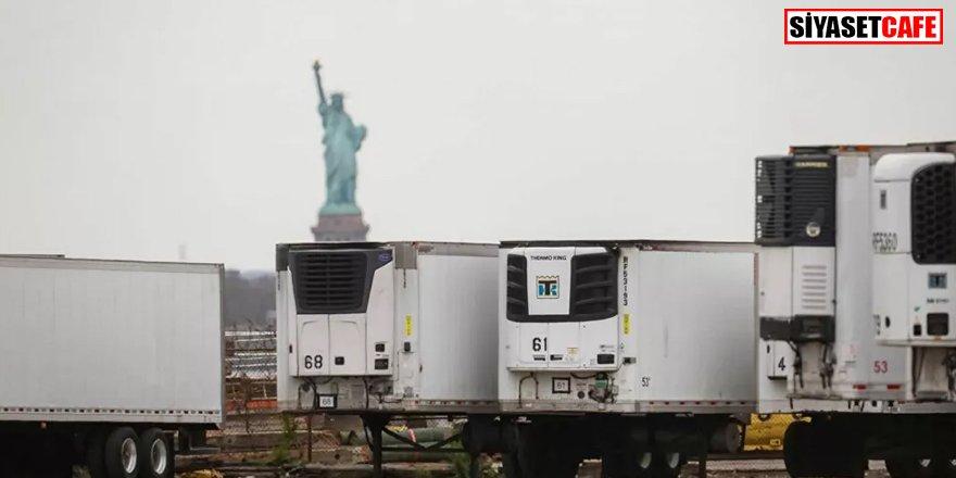 Koronavirüs'te son nokta: Yüzlerce ceset kamyonlarda bekletiliyor