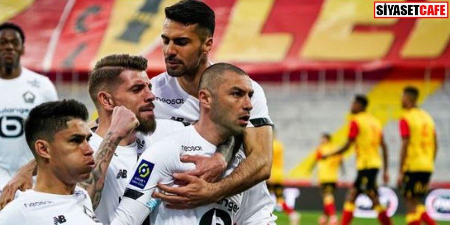 Sosyal medya yıkıldı: Burak Yılmaz Lille'i şampiyonluğa taşıyor!
