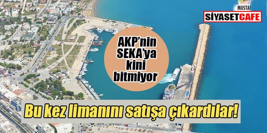 AKP Taşucu Limanı'nı bir kez daha satışa çıkardı!