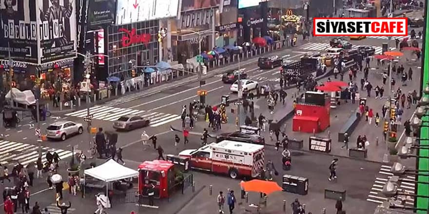 New York'un göbeğinde silah sesleri! Yaralılar var