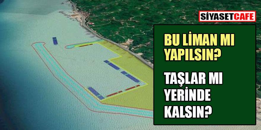 Rize'deki taşocağıyla ilgili Bakan noktayı koydu: O liman nasıl dolacak?