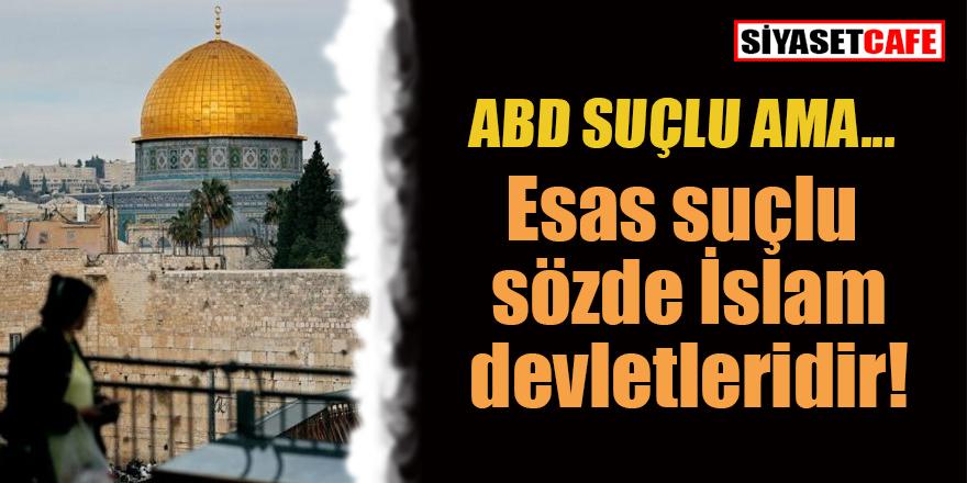 'Arap ülkelerindeki işgal bitmeden Filistin'deki zulüm bitmez!'