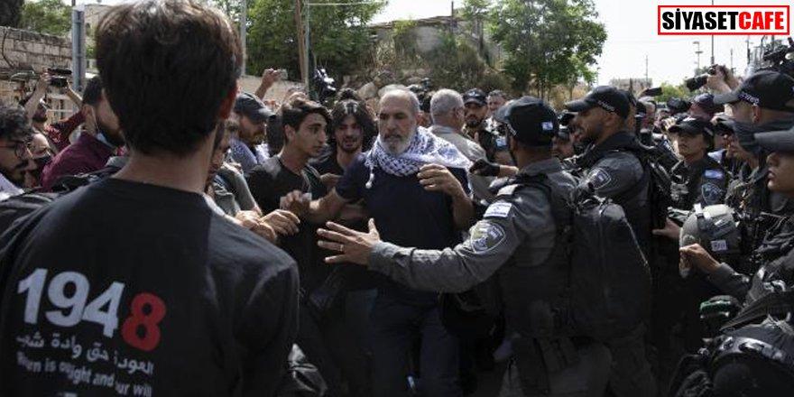 İsrail güçlerinden Şeyh Cerrah Mahallesi sakinlerine saldırı