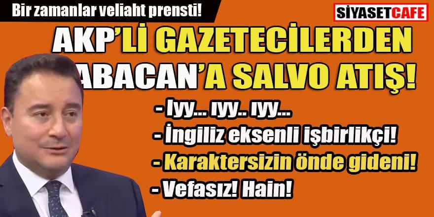 Babacan'a AKP'ye yakın gazetecilerden salvo atış! İşte yazdıkları