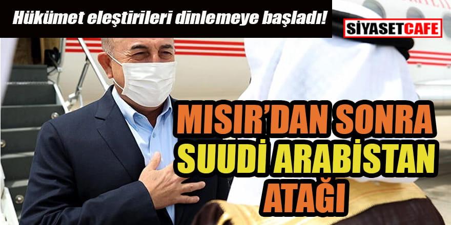 Dışişleri Bakanı Mevlüt Çavuşoğlu Suudi Arabistan'da