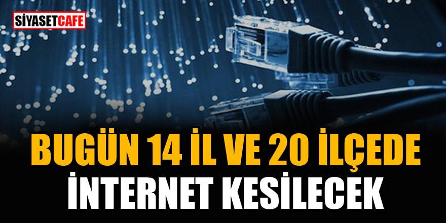 11 Mayıs 2021 internet kesintisi yaşanacak İl ve İlçelerin listesi! 14 İl ve 20 İlçede internet kesilecek