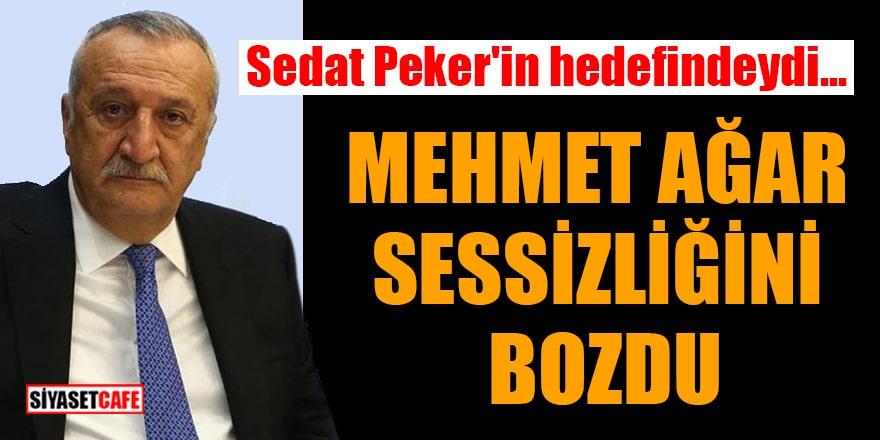 Mehmet Ağar, Sedat Peker'in hakkındaki iddiaları karşısında sessizliğini bozdu!