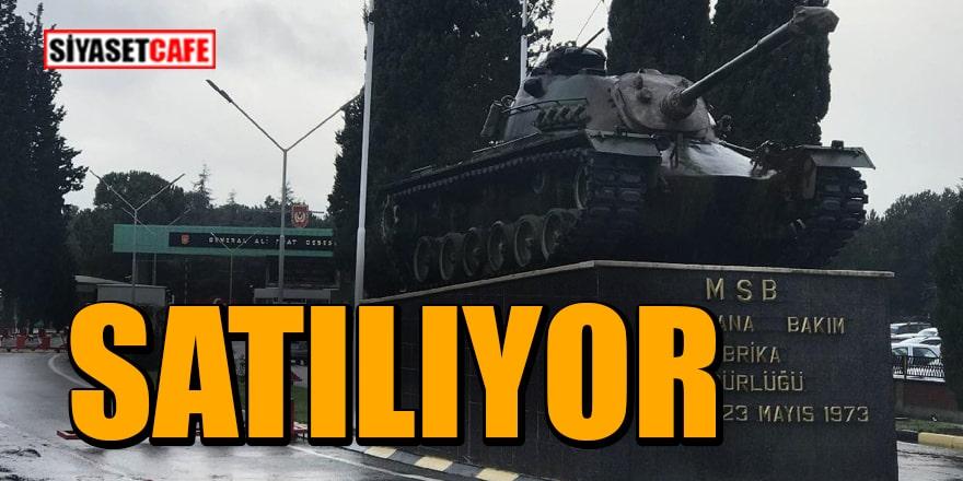 Sakarya Tank Palet Fabrikasında hisseler devrediliyor