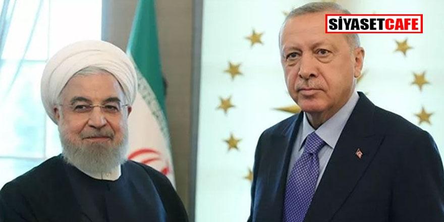 Erdoğan Ruhani'yle görüştü:  Gündemde kritik konular vardı