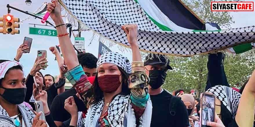 İsrail'den Bella Hadid'e tepki: 'Yazıklar olsun sana'