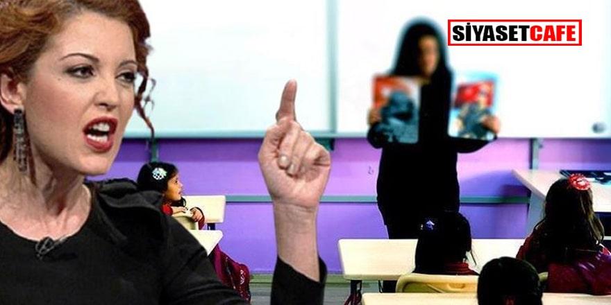 Nagehan Alçı yine öğretmenleri eleştirdi