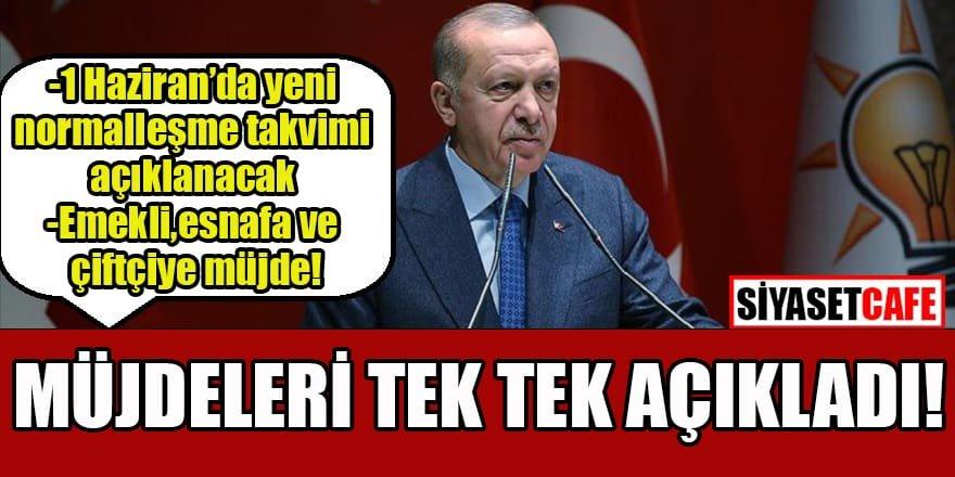 Cumhurbaşkanı Erdoğan'dan kabine toplantısının ardından açıklamalar