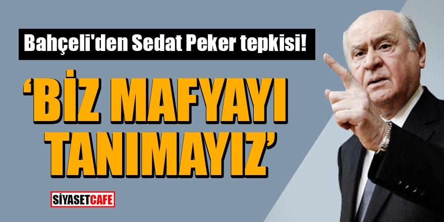 MHP Lideri Bahçeli'den Sedat Peker tepkisi: Biz mafyayı tanımayız