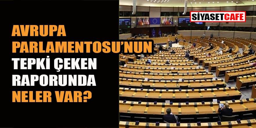 Avrupa Parlamentosunun tepki çeken 2019-2020 Türkiye Raporu'nda neler var?
