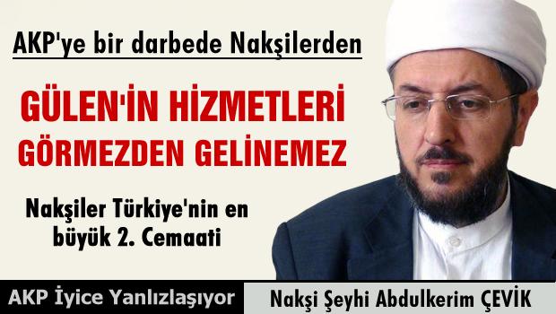 Nakşibendi Şeyhinden AKP'ye tepki