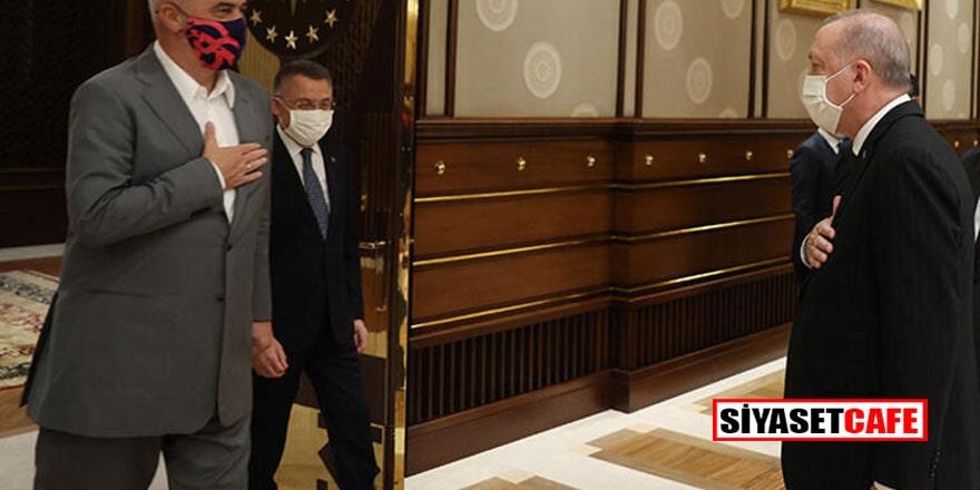 Arnavutluk Başbakanı Türkiye'de